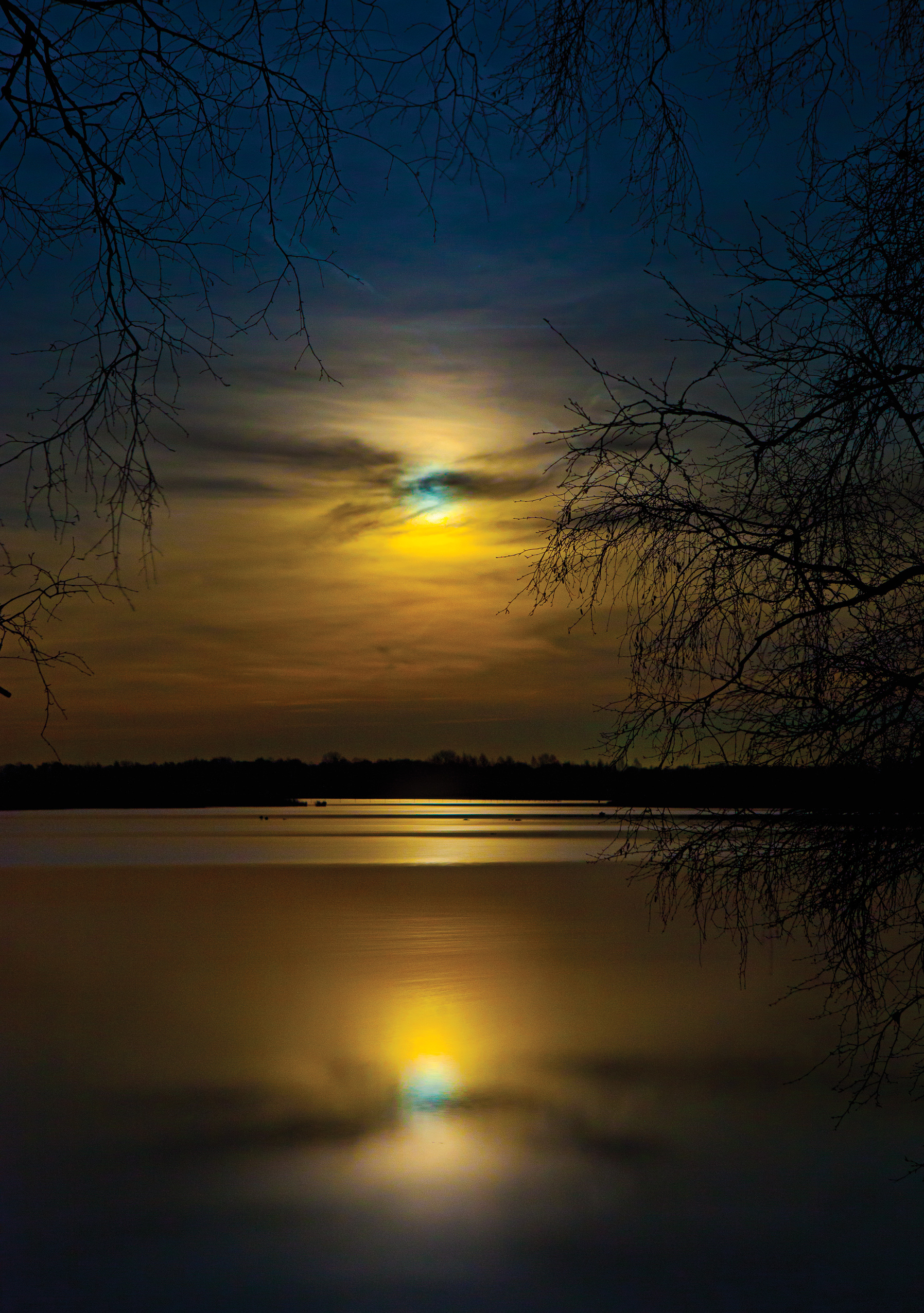 Zwilbrock Moonrise