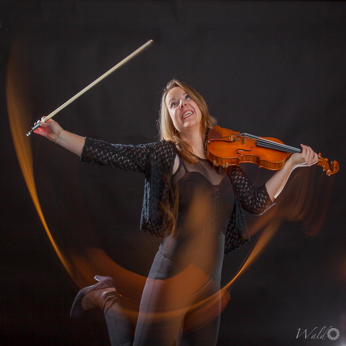 Inge Bergenhuizen, Violin